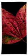 Leaf And Tree Beach Towel