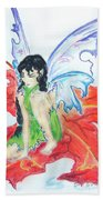 Leaf Fairy Beach Towel