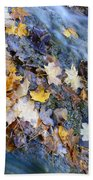 Leaf Island Beach Towel