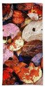 Leaf Patterns 2 Beach Towel
