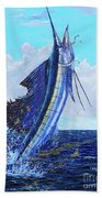 Leap Of Freedom Off0048 Beach Towel
