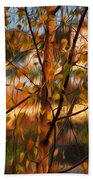 Leaves - Impressions Beach Towel