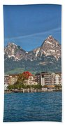 Leaving Brunnen Beach Towel