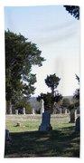 Lebanon Cemetery Oklahoma Beach Towel