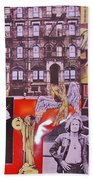 Led Zeppelin  Collage Number Two Beach Towel