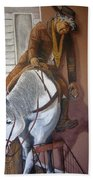 Lee Marvin Cat Ballou Homage 1965 Mural  Kid Chillean's Black Canyon Arizona  2005 Beach Towel
