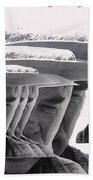 Lee Marvin Monte Walsh #2 Old Tucson Arizona 1969-2012   Beach Towel