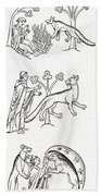 Legend Of The Priest And People Changed Beach Towel