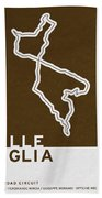 Legendary Races - 1927 Mille Miglia Beach Towel