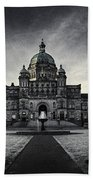 Legislature Building British Columbia Victoria Beach Towel