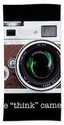 Leica M7 Beach Towel by Dave Bowman