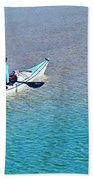 Leisure On The Lake Beach Towel