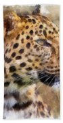 Leopard 7 Beach Towel