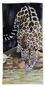 Leopard N.2 Beach Towel