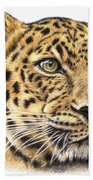 Leopard Beach Towel