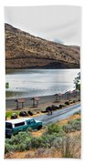 Lepage Rv Park On Columbia River-or Beach Towel