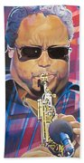 Leroi Moore And 2007 Lights Beach Towel