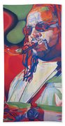 Leroi Moore Colorful Full Band Series Beach Towel