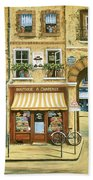 Les Rues De Paris Beach Towel