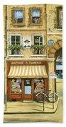 Les Rues De Paris Beach Sheet