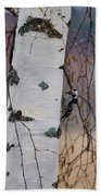 Lesser Spotted Woodpecker Beach Towel