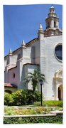 Let There Be Light Knowles Memorial Chapel 1 By Diana Sainz Beach Towel