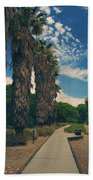 Let's Walk This Path Together Beach Towel