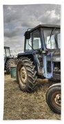 Leyland Tractors  Beach Towel