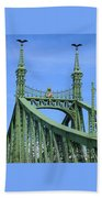 Liberty Bridge Budapest Beach Towel