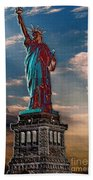 Liberty For All Beach Towel