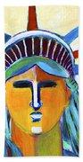 Liberty In Colors Beach Towel