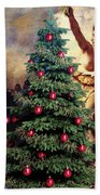Liberty Places Star On The Tree Beach Towel