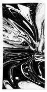Licorice In Abstract Beach Towel