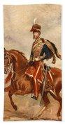 Lieutenant Colonel James Thomas Brudenell  Beach Towel