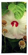 Life And Death In The Garden Beach Towel