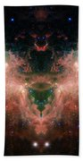 Life And Death Of Stars 4 Beach Towel