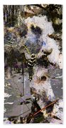 Life And Death On The River Of Rocks Trail Beach Towel