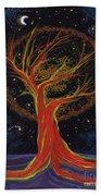 Life Blood Tree By Jrr Beach Towel