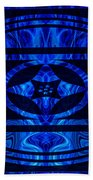 Life Force Within Abstract Healing Artwork Beach Towel