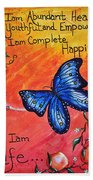 Life - Healing Art Beach Towel by Absinthe Art By Michelle LeAnn Scott