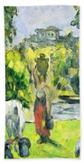 Life In The Fields Beach Towel