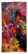 Life Is A Carnival 02 Beach Towel