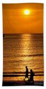 Life Is Beautiful Beach Towel by Adrian Evans