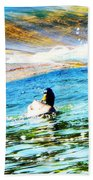 Life Is Just Ducky Beach Towel