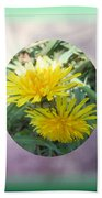 Life Is Made Up Of Dandelions Beach Towel