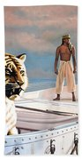 Life Of Pi Beach Towel