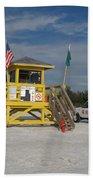 Lifeguard And Beachpatrol Beach Towel