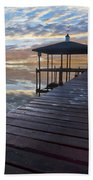 Light At The Lake Beach Towel