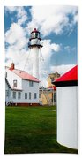 Light At Whitefish Point Beach Towel