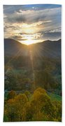 Light In The Valley Beach Towel